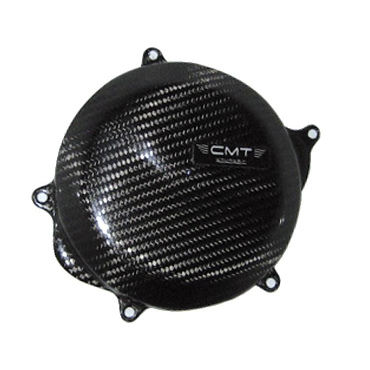 Protezione carter frizione in carbonio CMT per Honda CRF 250 2018 2021 cod.000184