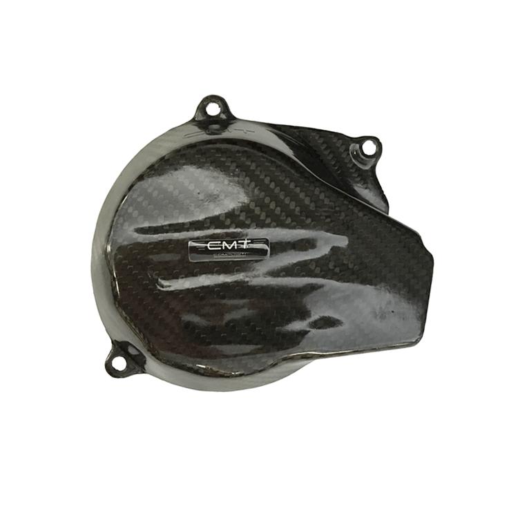 Protezione carter frizione in carbonio CMT per Ktm SX 250 12-15 e EXC 250 300 13-16  cod.000318