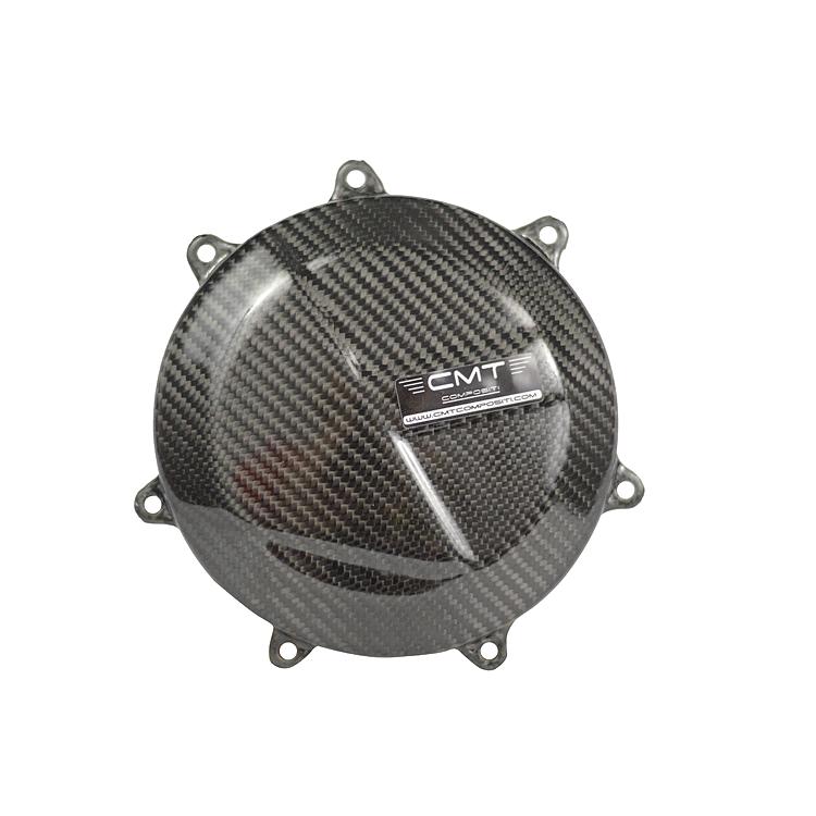 Cover fondelli in carbonio CMT per scarichi Honda CRF 250 2014 e CRF 450 13-16  cod.000134