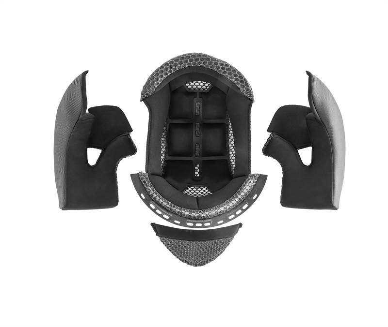 VISOR MECHANISM SUNRISE Acerbis  NERO