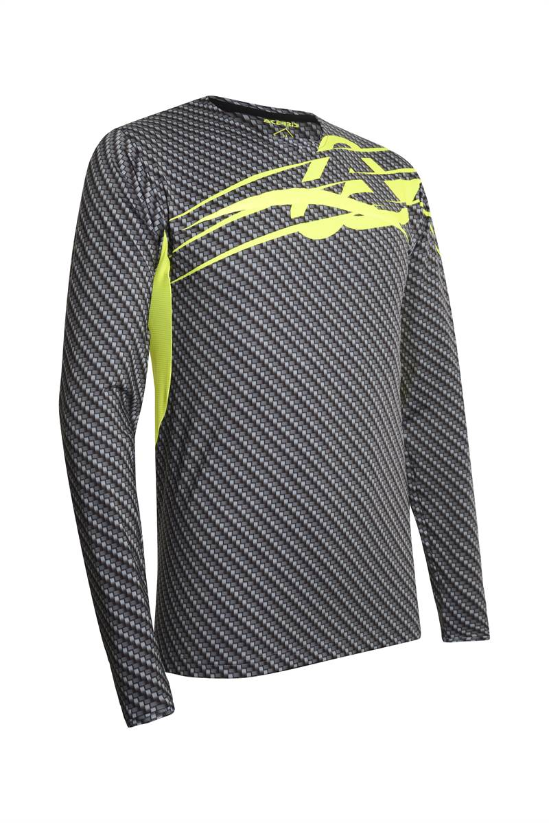 Maglia enduro Fox LEGION DR GAIN Grey 2020