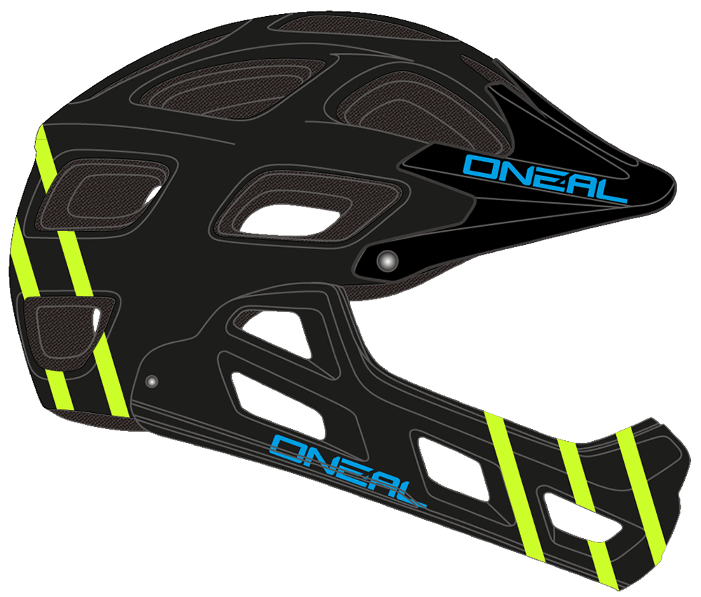Casco MTB O'Neal Warp Fidlock Helmet MATTE black
