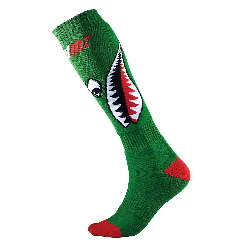 Calze O'Neal Pro MX Sock Crossbones black/white (One Size)