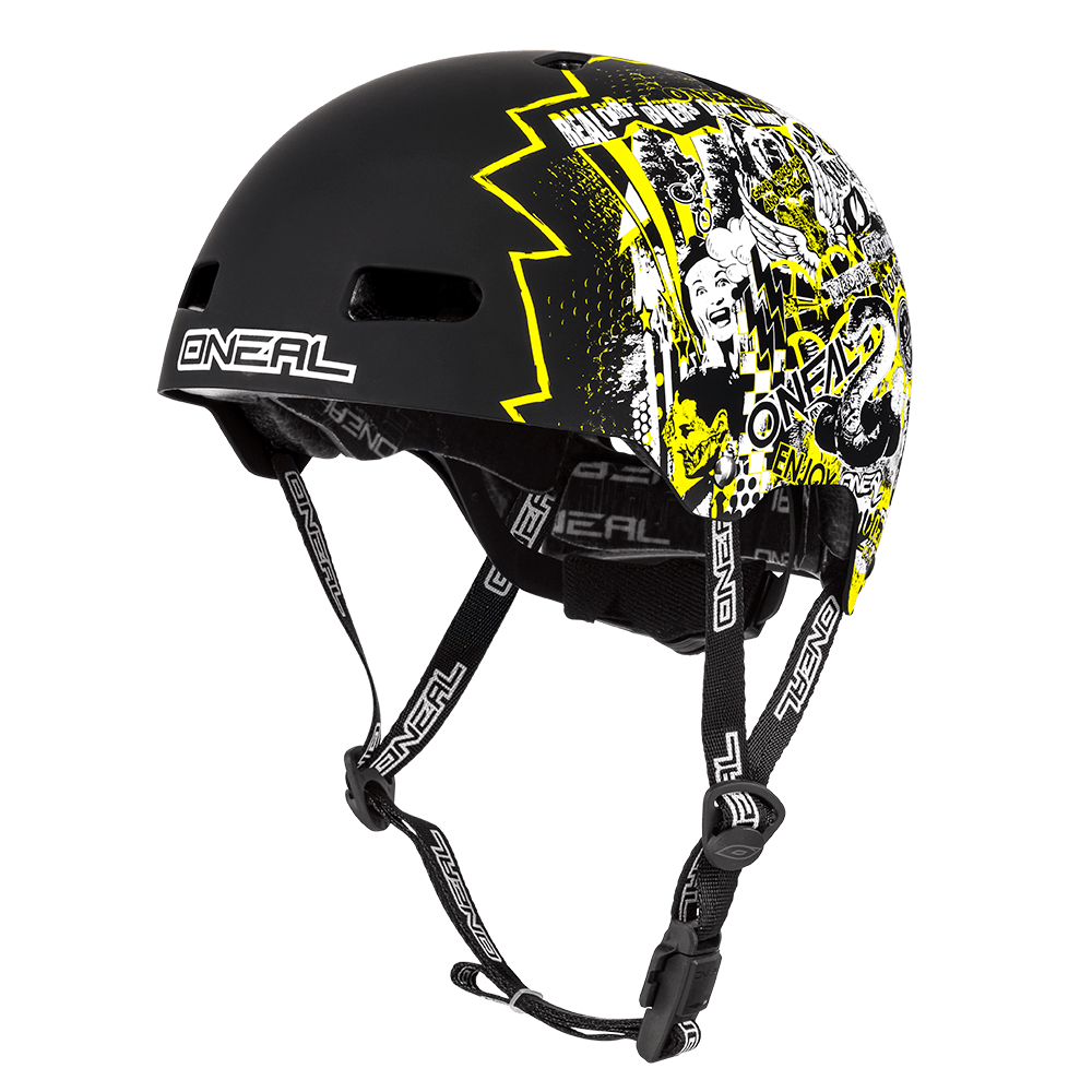Casco MTB O'Neal DEFENDER NOVA white/neon yellow