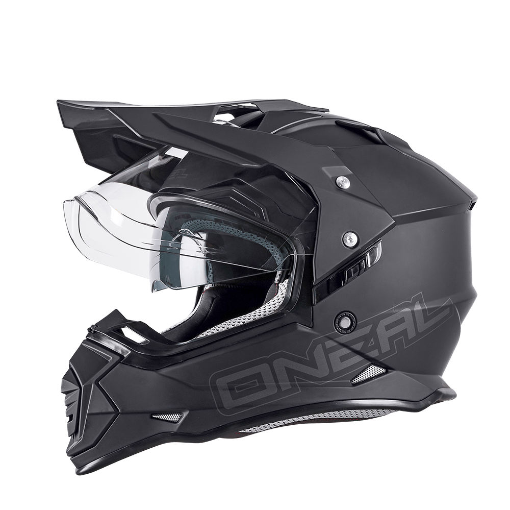Casco integrale dual road Airoh COMMANDER CONCRETE Grey Matt
