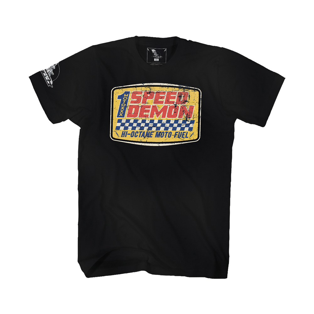 Moto XXX T-Shirts WHEELIE black XXL