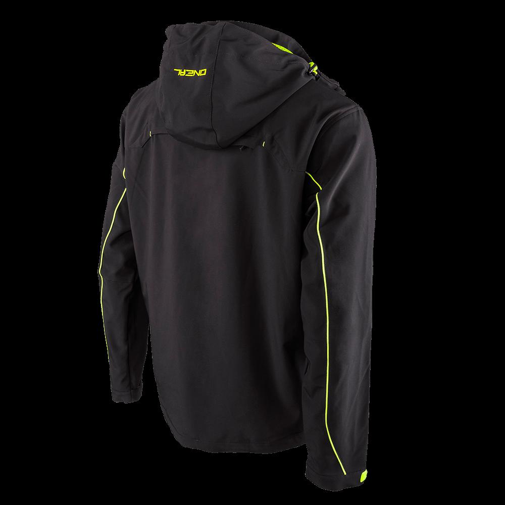 FREERIDER Soft Shell Jacket black/yellow 4