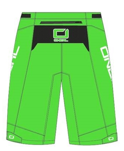 Shorts impermeabili bici O'Neal ALL MOUNTAIN MUD black