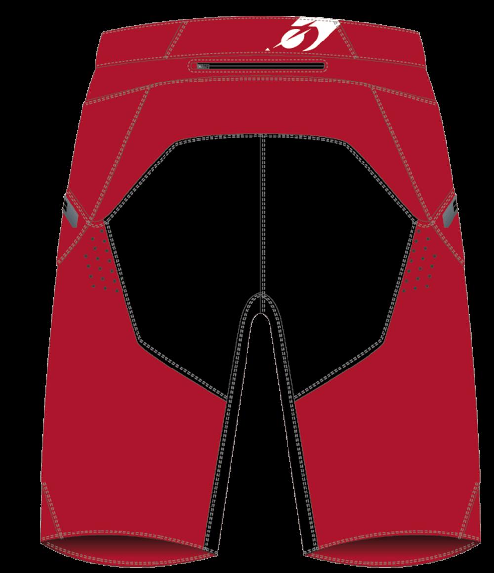 Slickrock Short CAMOUFLAGE red