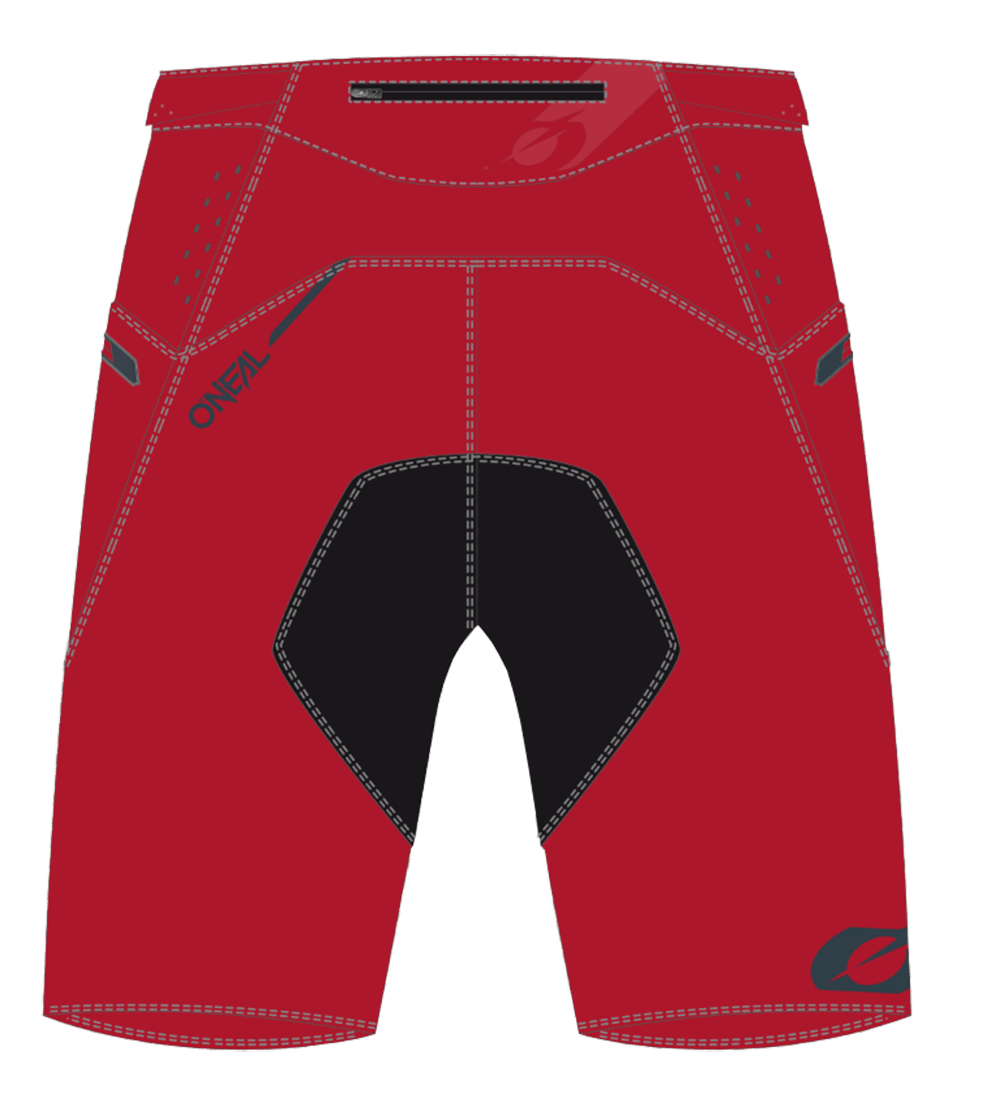 ELEMENT FR Shorts BLOCKER red/gray