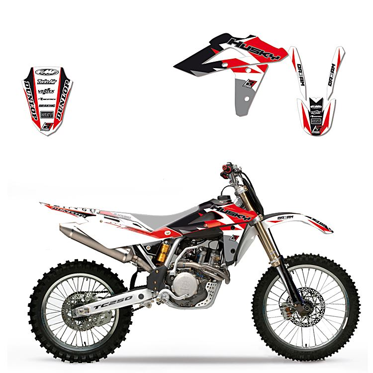 ADESIVI RADIATORE Dream 3 HONDA CRF 250 450