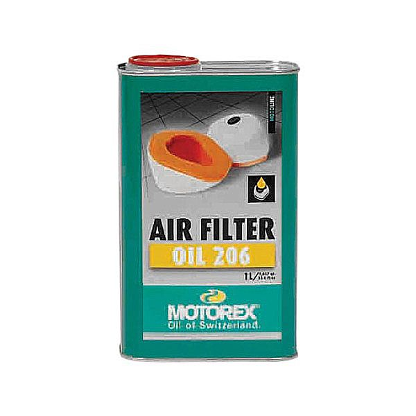 Motorex Air Filter Oil olio Spray per filtri aria cross in spugna