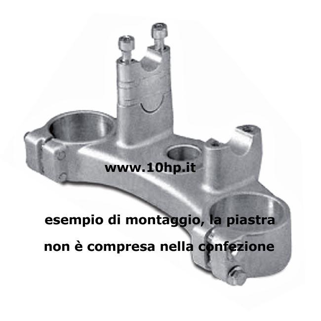 Alzamanubrio in alluminio per manubri 28,6 mm 2