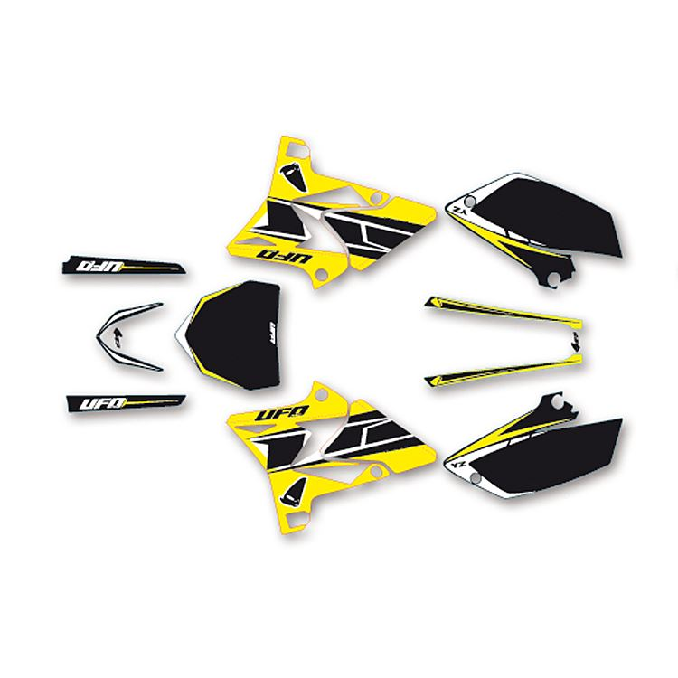 Kit grafiche DREAM 3 giallo per HUSQVARNA FC FE TC TE CR WR