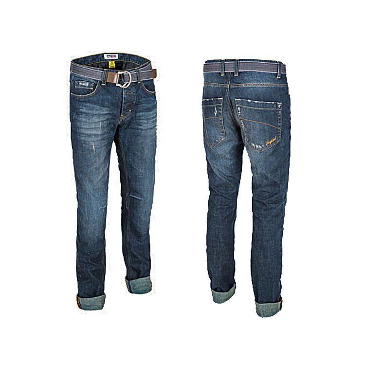 Jeans da moto donna con protezioni e Kevlar® Promo Jeans SANTIAGO LADY Avana