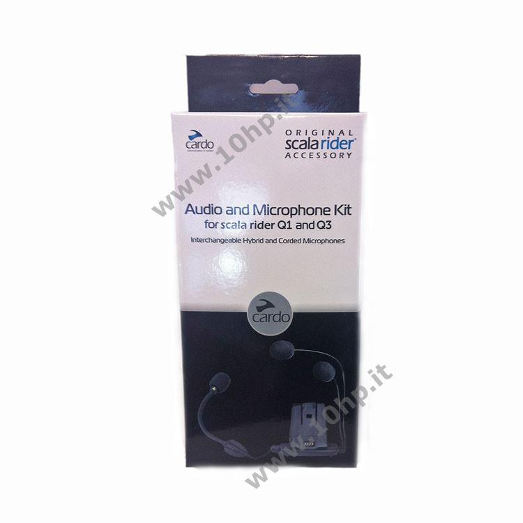 KIT AUDIO SCALA RIDER G4 G9 e G9X (ricambio interfono moto per tutti i tipi di caschi)