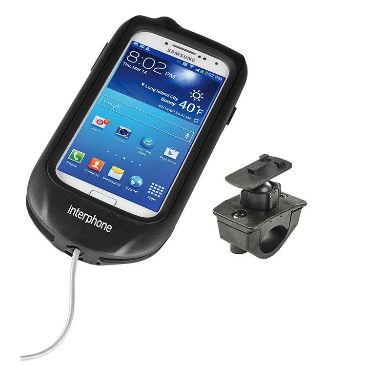 Presa doppia USB moto con supporto al manubrio Cellular Line