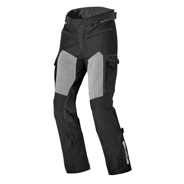 Jeans da moto donna con protezioni e Twaron® PMJ SANTIAGO LADY Avana