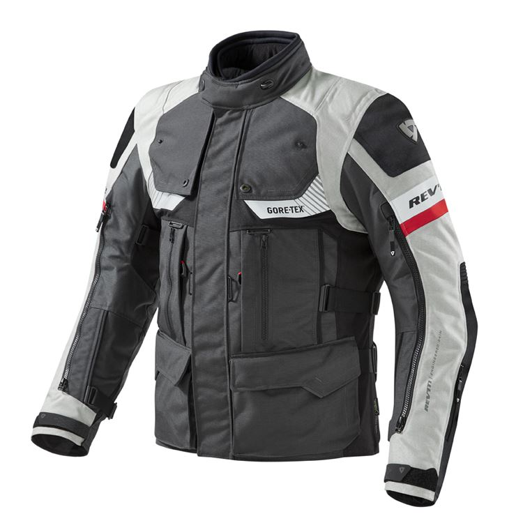 Giacca moto Rev'it DEFENDER PRO GORE-TEX® antracite-nero 1