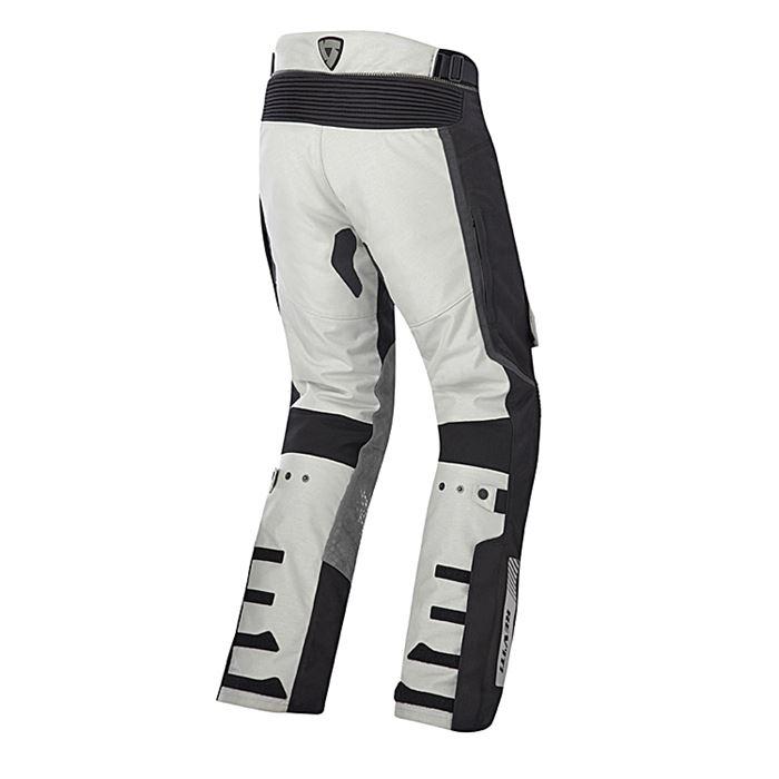 Pantaloni moto Rev'it DEFENDER PRO GORE-TEX® grigio chiaro-nero 2