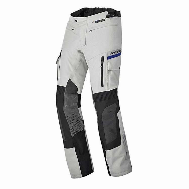 Jeans da moto donna con protezioni e Twaron® PMJ SANTIAGO LADY Grigio