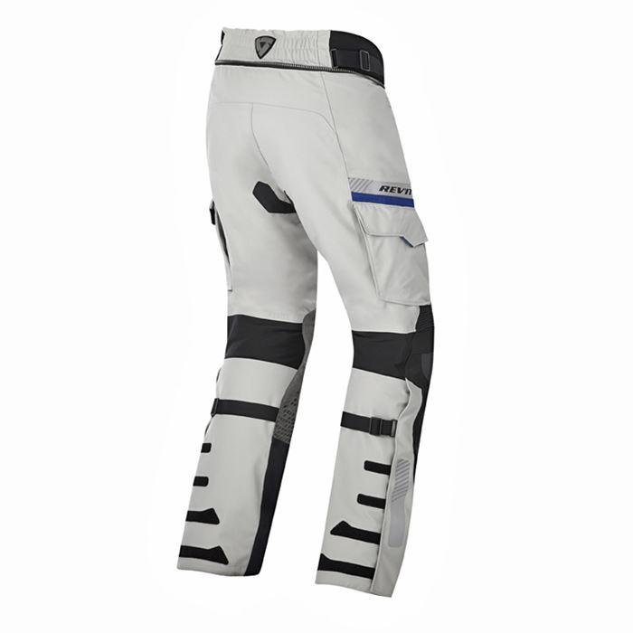 Pantaloni moto Rev'it DOMINATOR GTX Gore-Tex grigio chiaro-nero 2
