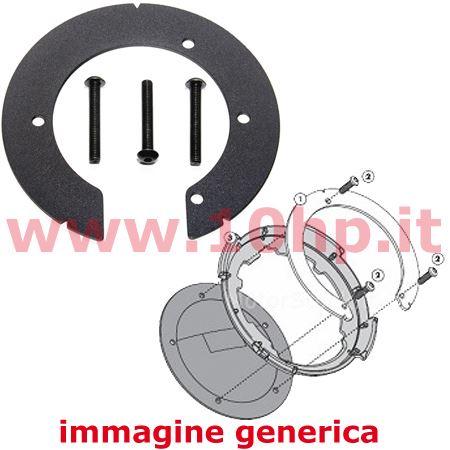 Porta Telepass per moto con biadesivo Givi S602