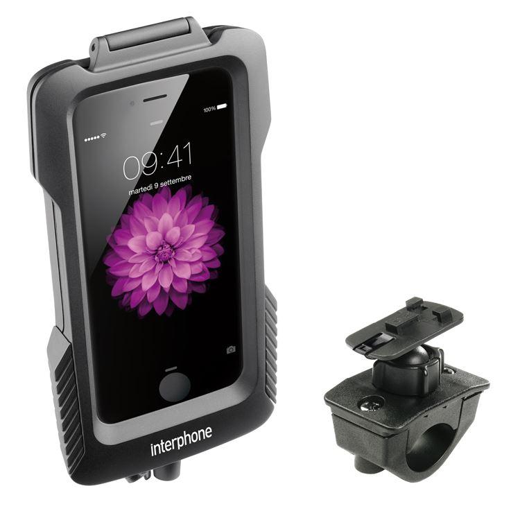 Porta Galaxy S4 da moto per manubri tubolari con possibilità di ricarica Cellular Line
