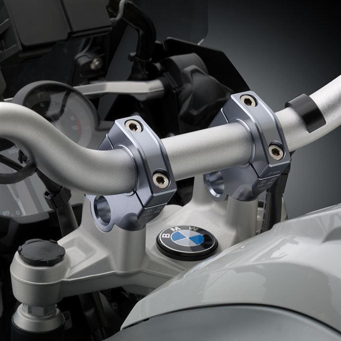 Risers rialzati e arretrati Rizoma per BMW R1200GS 2013 2014 2015 ADVENTURE 14-15  AZ451T 3