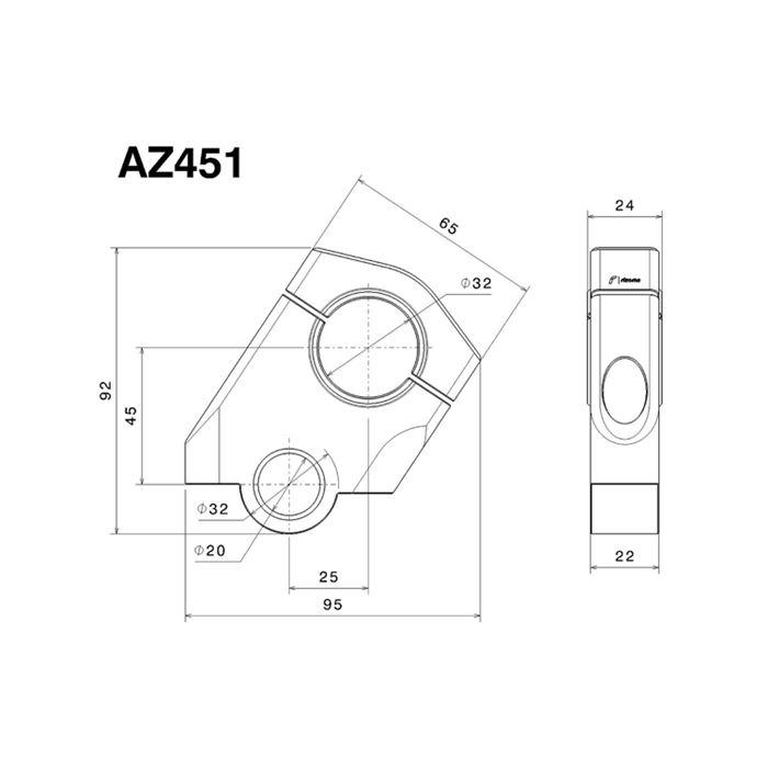 Risers rialzati e arretrati Rizoma per BMW R1200GS 2013 2014 2015 ADVENTURE 14-15  AZ451T 4