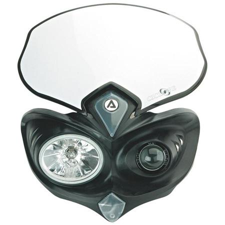 Mascherina portafaro Racetech V FACE LED Vari colori