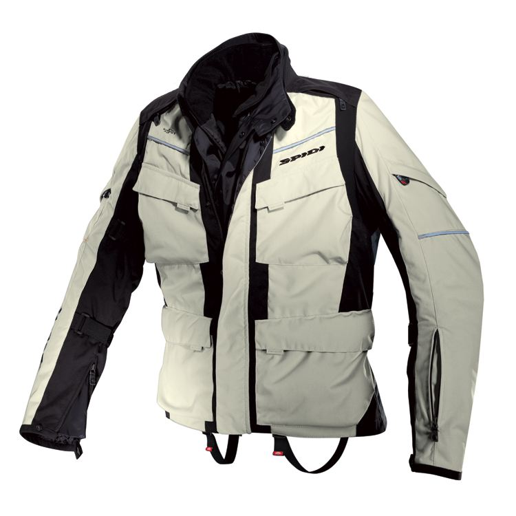 Sovracamicia moto Rev'it TRACER AIR Blu Marrone