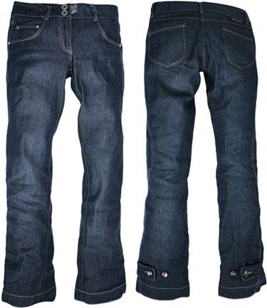 Jeans da moto Esquad in Armalith® 10-STRONG nero