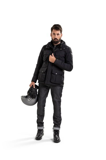 Giacca moto Rev'it TRIOMPHE Navy Scuro 1