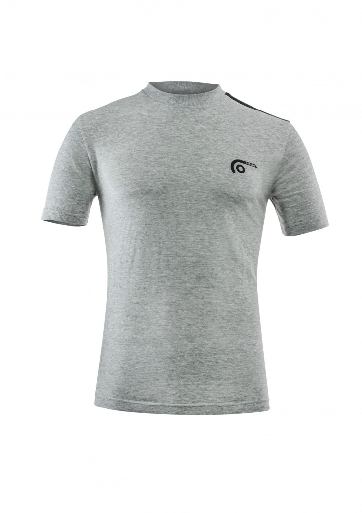 T-shirt Logo Ottano 2.0 Grigio Melange 2