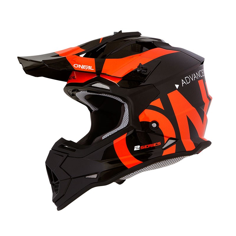 Casco cross enduro O'Neal serie 10 Hyperlite CORE red/black