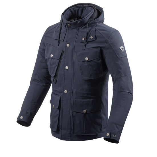 Giacca moto Rev'it TRIOMPHE Navy Scuro 3