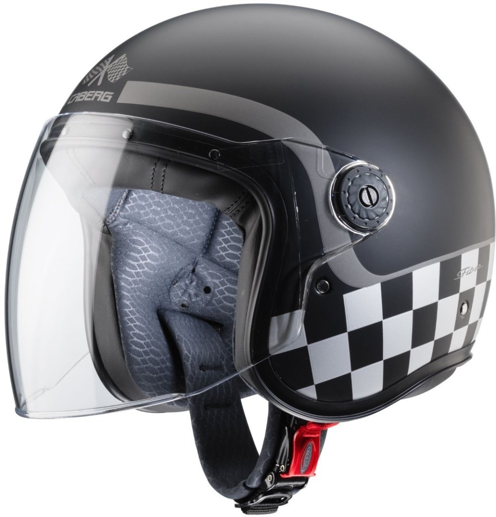 Casco jet Caberg FREERIDE CARBON