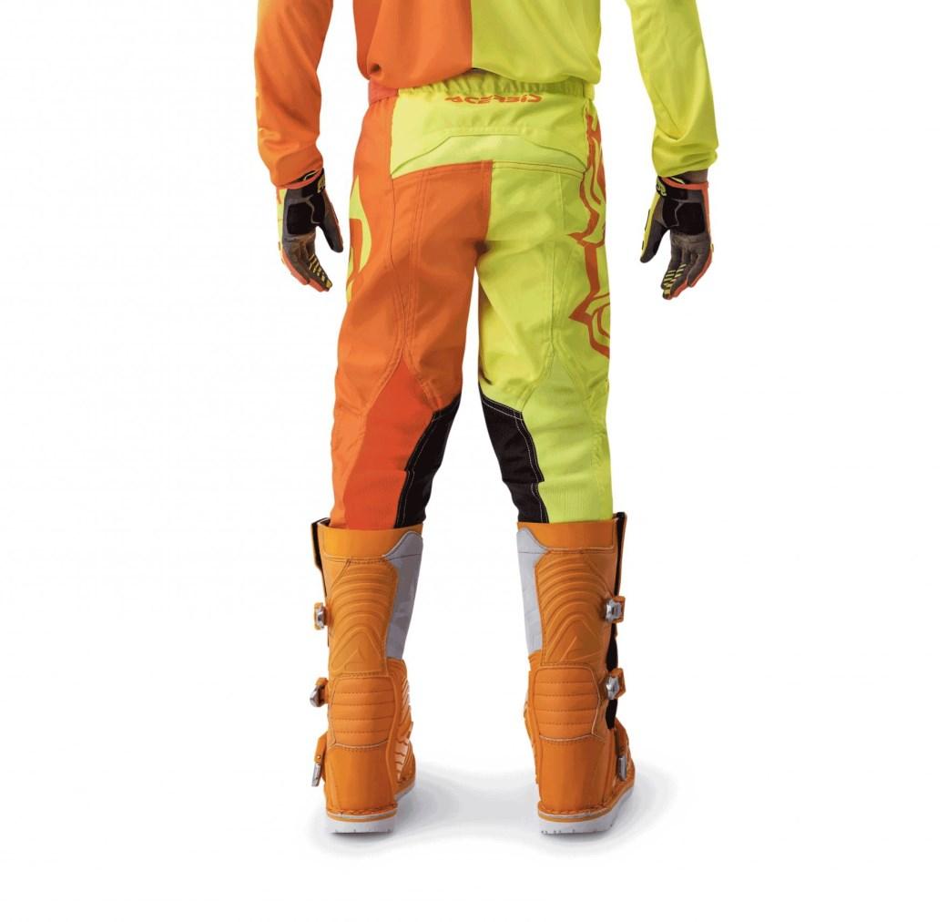 Pantaloni cross enduro Thor Fuse AIR Dazz 2017 white orange