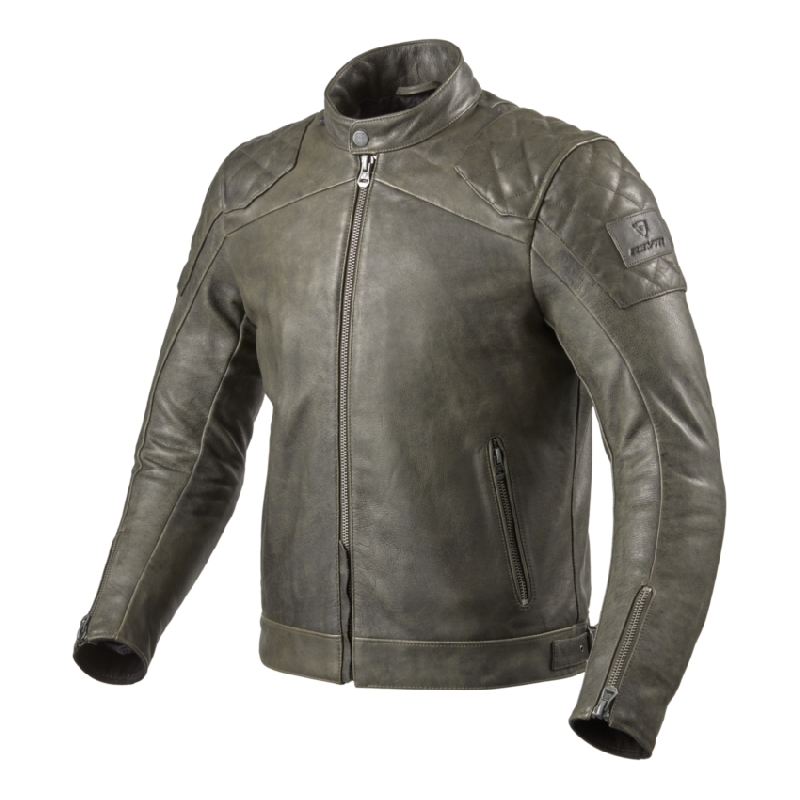 Giubbino pelle Vintage Dmd Chiodo Black Leather