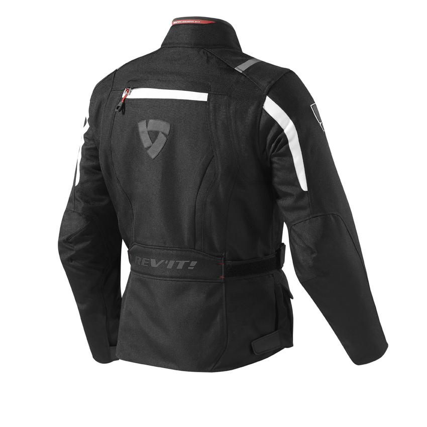 Giacca moto Rev'it VOLTIAC Ladies nero bianco 2