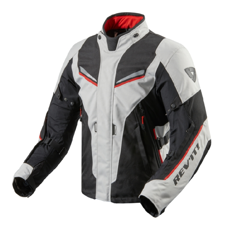 GIACCA MOTO DONNA ON ROAD RUBY LADY NERO ROSSO ACERBIS