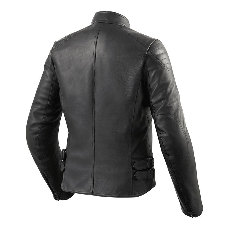 Giubbino moto pelle donna Rev'it ERIN LADIES nero 2
