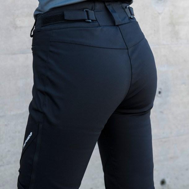 Pantaloni moto Donna ventilati Spidi STRETCH TEX LADY Nero 3