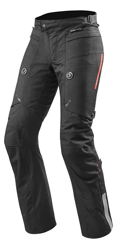 Pantaloni moto laminati Rev'it HORIZON 2 Nero 1