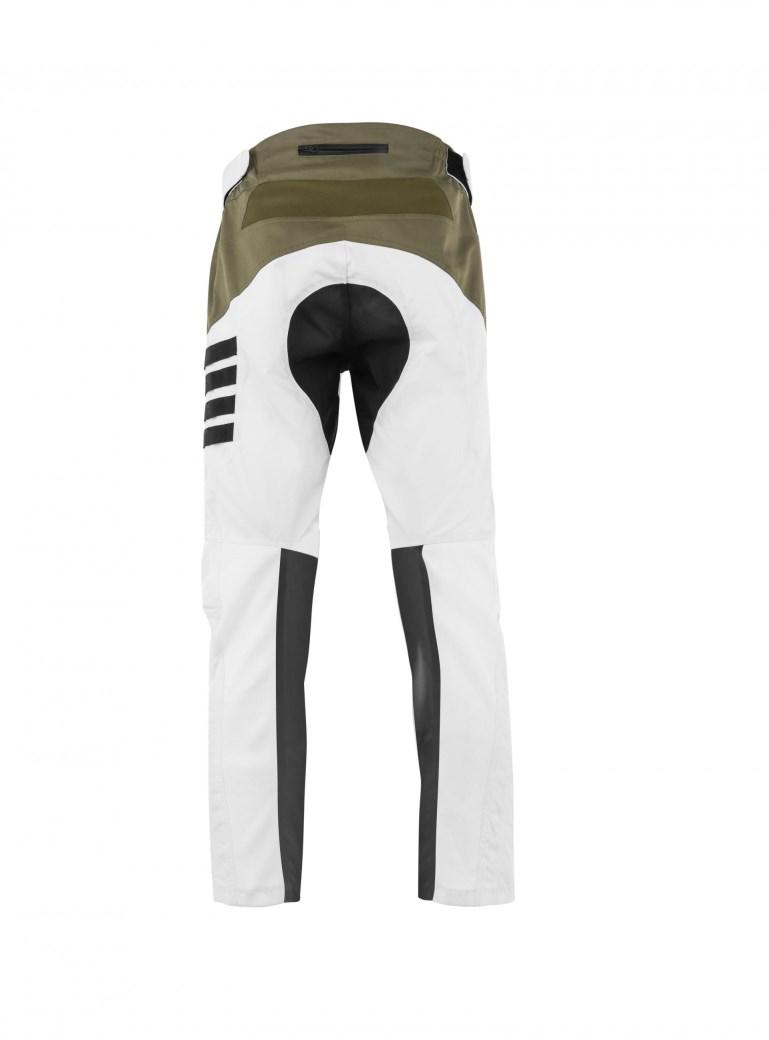 Pantaloni moto ADVENTURING Ottano 2.0 Bianco 2