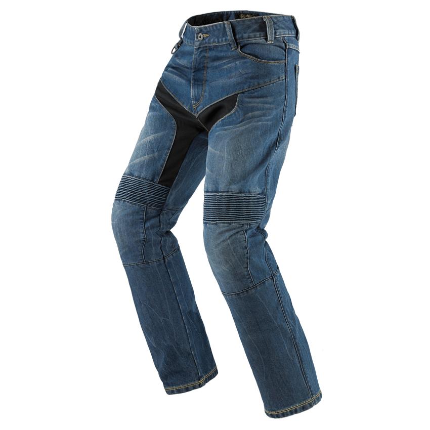 Jeans da moto donna conformato con protezioni e Kevlar® Promo Jeans CAROLINA