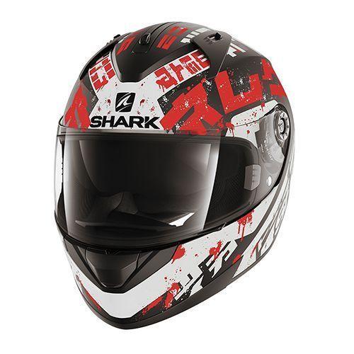 Casco integrale Shark SKWAL 2 NUK'HEM Rosso Arancio