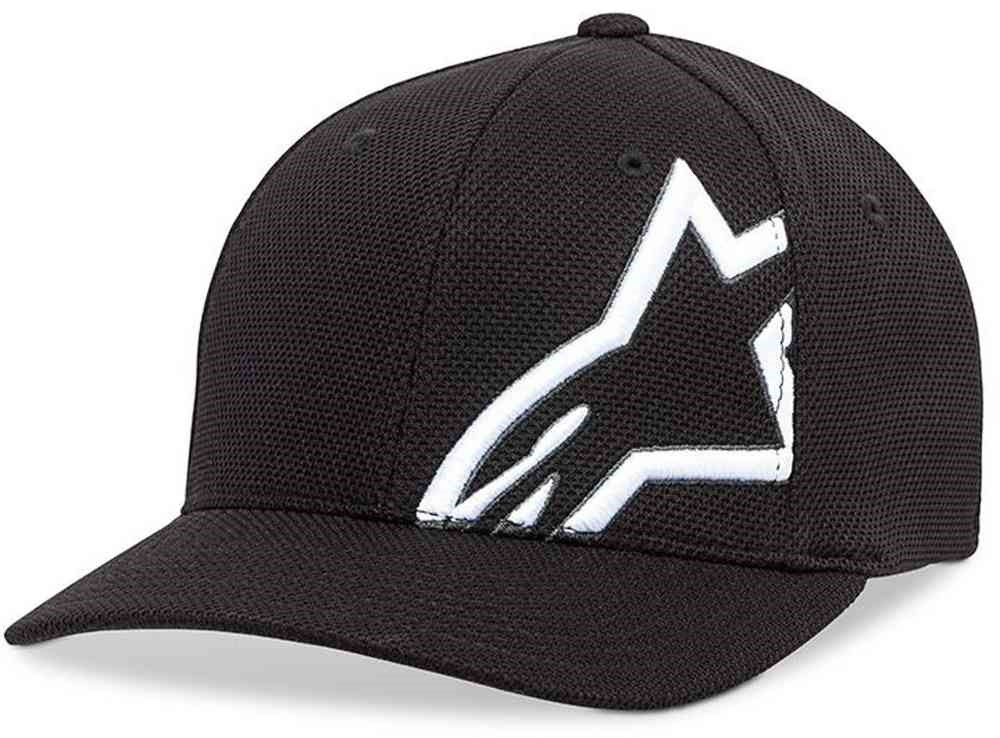 Cappellino Alpinestars CORP SHIFT MOCK MESH HAT Nero Bianco 1