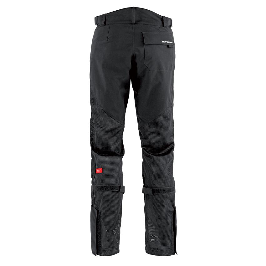 Pantaloni moto ventilati Spidi MESH LEG nero 2